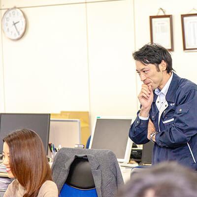 中途採用、東海電子の営業職3