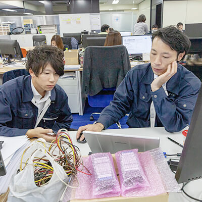 中途採用、東海電子の営業サポート7