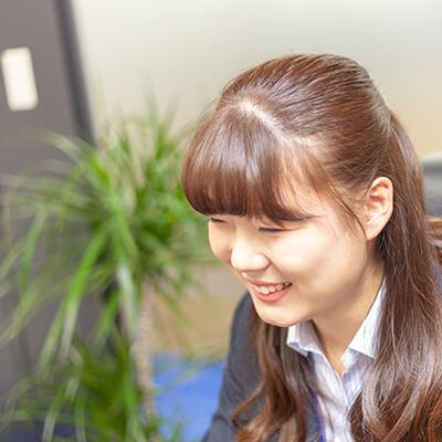 新卒採用、営業職社員のインタビュー1