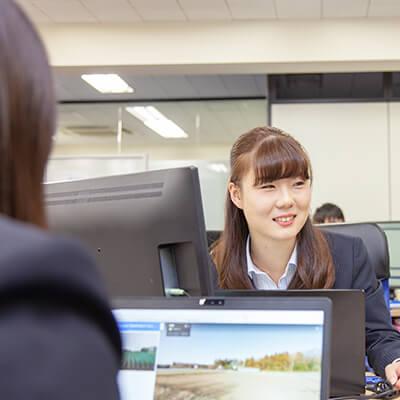 新卒採用、営業職社員のインタビュー4