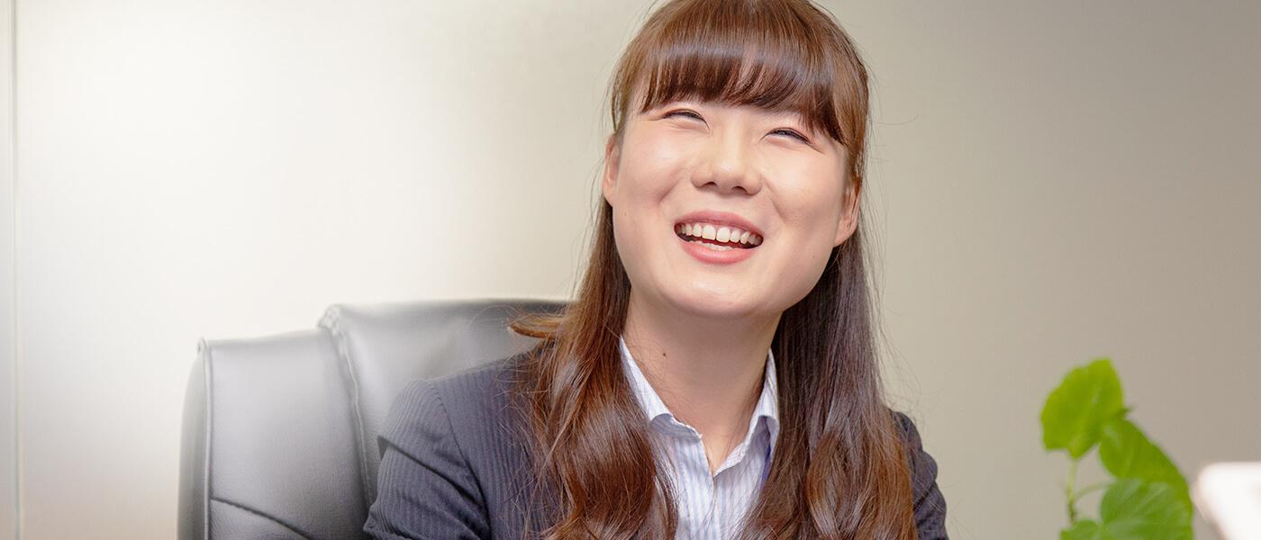 新卒採用、営業職社員のインタビューtop